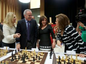 Garry Kasparov, Polgar sisters, chess